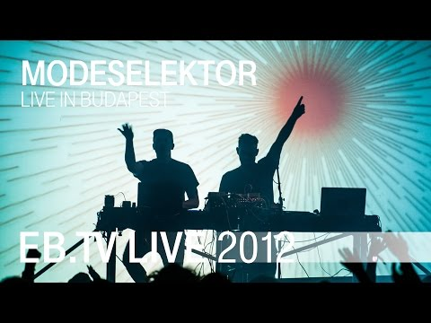 modeselector - Watch Berlin-based duo MODESELEKTOR perform 'Pretentious Friends', 'Dirty Snowball' & 'Let Your Love Grow' live and in 1080p HD video at Electronic Beats Fes...