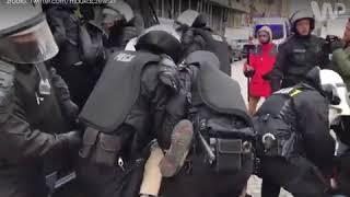 Policja kontra Obywatele RP na Marszu Niepodległości