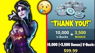 Video *GIFTING KID* $100 V-BUCKS (BATTLE PASS) IN FORTNITE BATTLE ROYALE!! MP3, 3GP, MP4, WEBM, AVI, FLV Desember 2018