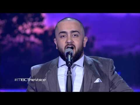 """رضوان صادق يحصل على تجاوب جمهور مسرح The Voice بأغنية """"رمشة عينك"""""""