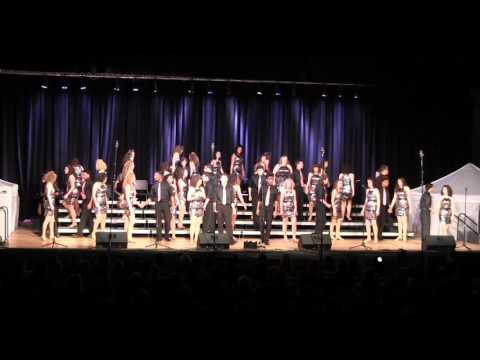 Auditorium at a show choir competition loses power, entire Audience keeps stage light
