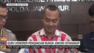 Download Video Guru Honorer Pengancam Bunuh Jokowi Ditangkap, Terancam 6 Tahun Bui MP3 3GP MP4