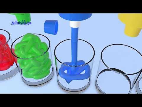 Яйца с сюрпризом и Краски Учим цвета Surprise Eggs Развивающий мультик для детей (видео)