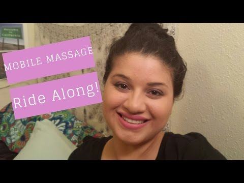 A DAY IN THE LIFE OF A MASSAGE THERAPIST EP 1: MOBILE MASSAGE DAY!