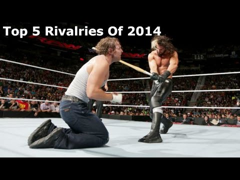 WWE Top 5 Rivalries Of 2014
