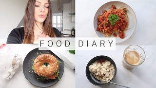 FOOD DIARY - FITNESS MOTIVATION | MIT GEWICHTSANGABEN | ERNÄHRUNG IDEAL ZUM ABNEHMEN