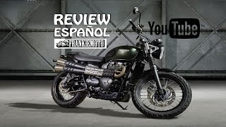 7. Triumph Scrambler 2016 - 2017 Review en Español