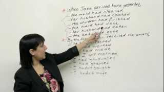 Past Perfect Tense, Learn English with Rebecca
