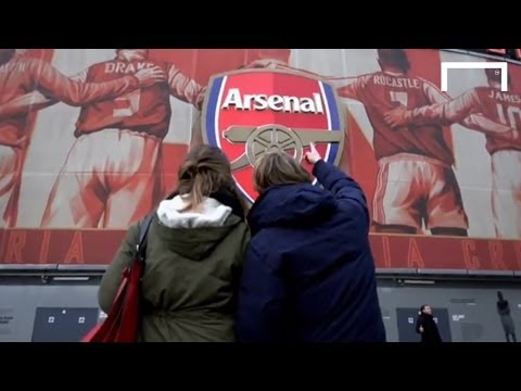 Video: Behind the scenes at Arsenal!