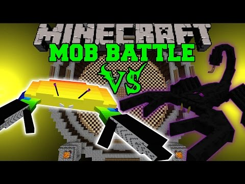 Battle - Giant Crab Vs Emperor Scorpion : Who will win the mob battle?! Don't forget to subscribe for more battles and epic Minecraft content! Facebook! https://www.facebook.com/pages/PopularMMOs/3274980106...
