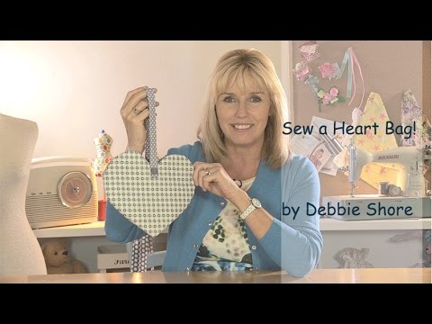 patchwork – mini borsetta a forma di cuore