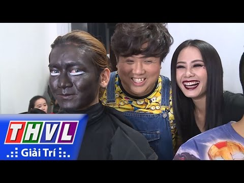 BB Trần gây choáng vì kiểu hóa trang kinh dị tại Cười xuyên Việt Phiên bản nghệ sĩ 2016
