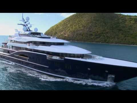 Superyacht Solandge by Lürssen - Yours to charter for around $1M / Week...