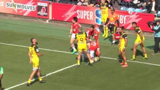 Sunwolves v Hurricanes Rd.1 Super Rugby Video Highlights 2017
