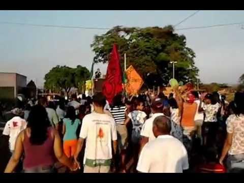 Caminhada do 15 isso sim é democracia. Porto Alegre do Tocantins - Brasil