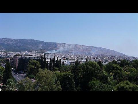 Σε εξέλιξη πυρκαγιά κοντά στο σκοπευτήριο Καισαριανής