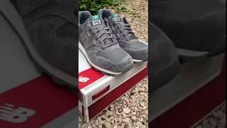 Женские кроссовки New Balance WR996EB. Серый