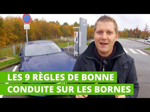 Les 9 règles de bonne conduite sur les bornes de recharge