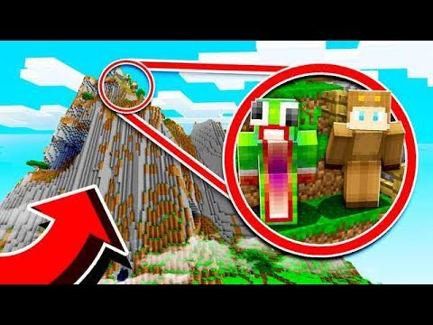SURVIVING ON A GIANT MOUNTAIN IN MINECRAFT! With UNSPEAKABLEGAMING