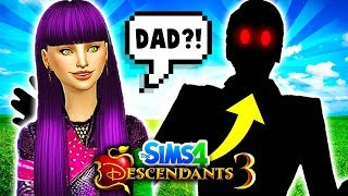 😈MAL FINDS HER FATHER?!🔥 Descendants 3 Sims 4: MAL'S JUNGLE ADVENTURE #1!🌴