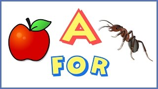 A For Apple  Nursery Rhymes Songs And Poems For Kids
