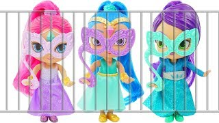 Shimmer and Shine Rescue Game  with LOL Surprise Dolls