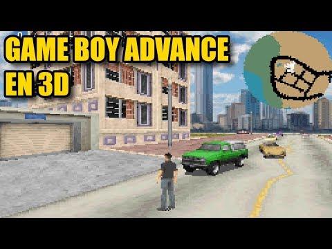 Juegos de Game Boy Advance en 3D
