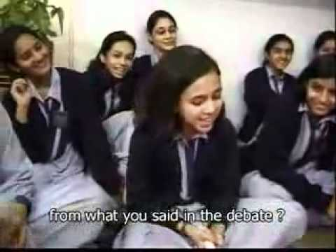 pakistani girls and boys - What Pakistani Girls think about INDIA - Amazing VIDEO ! PLEASE SEE COMPLETE VIDEO :)