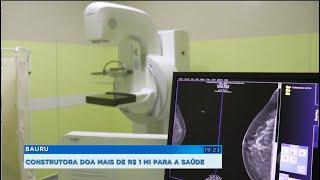 Construtora doa mais de R$1 milhão para a saúde