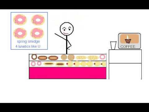 Brian Regan *Donut Lady* Comedian *Animation*
