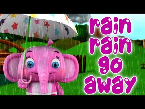 Дождик дождик уходи   детские стишки   мультфильмы для детей   Раин Раин Го Аваи   Литтле Треэоасе