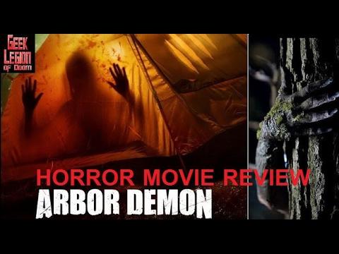 ARBOR DEMON ( 2017 Fiona Dourif ) aka ENCLOSURE Horror Movie Review