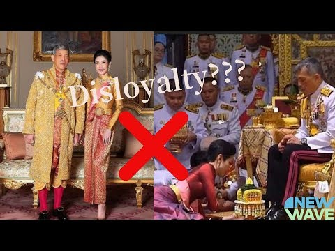 Thai king strips all royal titles from 34-year-old consort for disloyalty| Thai king| breaking news|