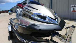 1. $9,999: For Sale Pre Owned 2013 Kawasaki Ultra 300 LX Jet Ski with Triton Aluminum Trailer