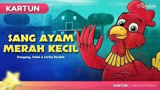 Sang Ayam Merah Kecil Kartun Anak Cerita2 Dongeng Bahasa Indonesia - Cerita Untuk Anak Anak