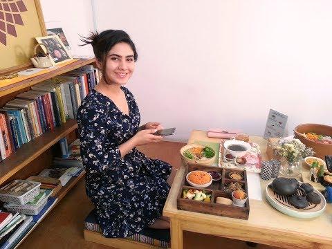 (Eating Vegan Food at BLISS PURE FOOD Boudha Kathmandu - Food Nepal - Duration: 7 minutes, 43 seconds.)