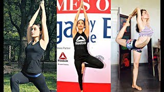 International Yoga Day 2017 - Kareena Kapoor, Malaika Arora Khan, Kangana Ranaut
