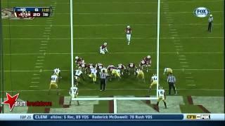Cameron Fleming vs Notre Dame (2013)