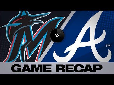 Video: Freeman, Acuña fuel Braves' walk-off win   Marlins-Braves Game Highlights 8/22/19