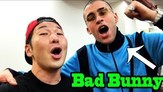Best of BAD BUNNY - SINGING IN PUBLIC COMPILATION by QPark!!