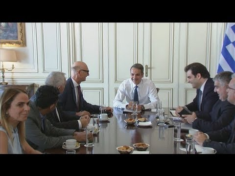 Συναντήσεις του πρωθυπουργού με επενδυτές