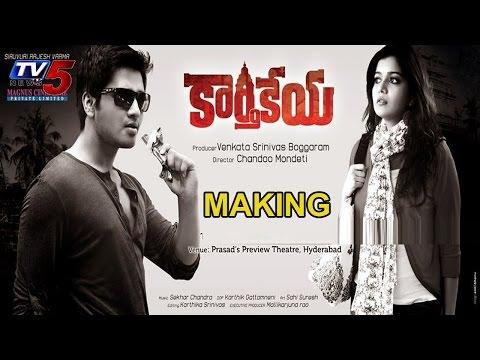 Making of  Karthikeya Movie | Nikhil | Swathi : TV5 News