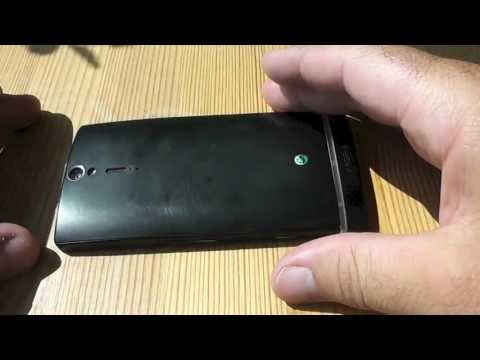 how to put battery in xperia m