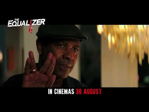 THE EQUALIZER 2: Official Trailer
