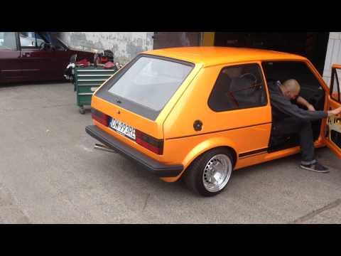 "VW Golf MK1 GTD ""Mandaryna"" by Mario / Old School Squad – First come back"