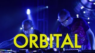 Electronic Music Innovators ORBITAL (FFRR / ACP) Dubspot Interview @ Decibel Festival