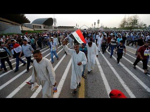 Ιράκ: Αποχώρησαν οι διαδηλωτές από την Πράσινη Ζώνη της Βαγδάτης- Απειλούν να επιστρέψουν