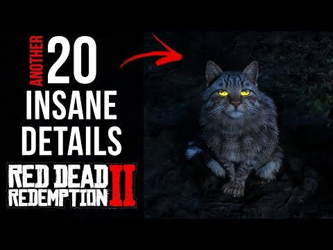 20 Insane Details In Red Dead Redemption 2 (part 4)