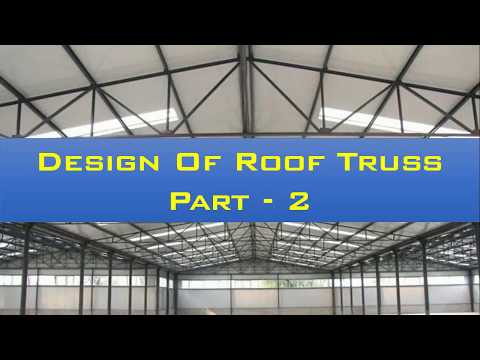 Solution Of Loads On Roof Truss