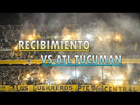 Recibimiento de Rosario Central vs Atl Tucuman - Fecha 19 - 2017 - Los Guerreros - Rosario Central